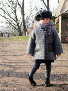 Kids fashion. Coat Zara