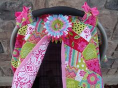 Carseat Canopy / Carseat Cover / Carseat Tent by fashionfairytales