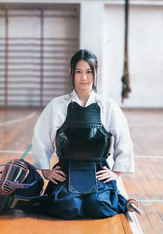 """Kendo (剣道 kendō, meaning """"Way of The Sword"""", is a modern Japanese sport/martial… Kendo, Japanese Sword, Japanese Girl, Female Samurai, By Any Means Necessary, Martial Artists, Warrior Girl, Katana, Japan Fashion"""