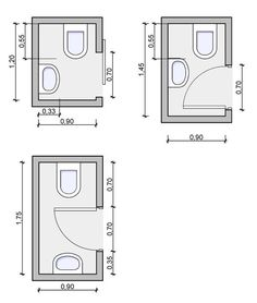 Tiny powder room layouts - back entrance/mud room layout Justin - Ally Tiny Half Bath, Small Half Bathrooms, Small Half Baths, Tiny Bathrooms, Bathroom Small, Smallest Bathroom, Small Bathroom Floor Plans, Bungalow Bathroom, Master Bathroom