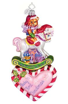 Christopher Radko 'Baby's First Christmas' Ornament