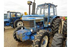FORD 7700 4X4 TRACTOR Serial No: B370167