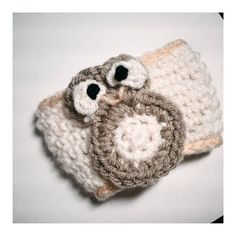 Owl Coffee Cozy  :)