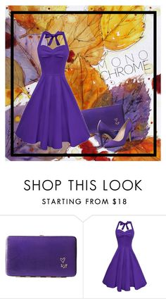 """""""Purple for Fall"""" by nthpocket ❤ liked on Polyvore featuring SJP"""