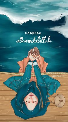 Choose best words to speak and say them in the best possible way By:almafajriniii Muslim Pictures, Islamic Pictures, Hijab Drawing, Wallpaper Hp, Anime Stories, Islamic Cartoon, Anime Muslim, Girly M, Hijab Cartoon