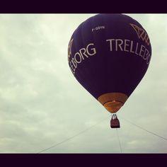 Somewhere over Belgium