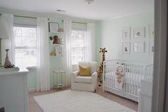Delightfully Chic: Baby G's Nursery