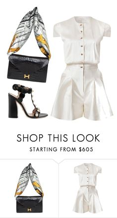 """Untitled #927"" by neide-goncalvesbrito ❤ liked on Polyvore featuring Hermès, Marina Hoermanseder and Gucci"