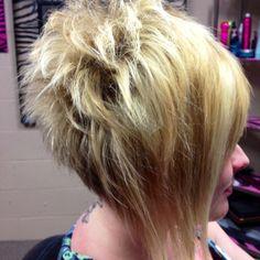 Sassy hair...