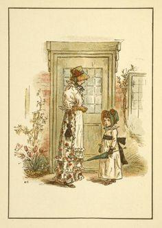 December - Kate Greenaway's Almanack for 1895