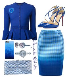 Degrade Azure by apostolicchickie on Polyvore