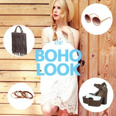 Editor's picks for her - Boho look Boho Look, Swag, Street, Check, Inspiration, Biblical Inspiration, Roads, Inhalation