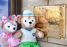 Travelling ShellieMay & Duffy Outside McDuck's Department Store Tokyo DisneySea Duffy The Disney Bear, Tokyo Disneysea, Department Store, Travelling, Backgrounds, Teddy Bear, Toys, Friends, Animals