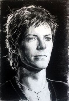 I WILL BE KING David Bowie in 1977 - Heroes performance at the Bing Crosby show. Charcoal on art paper #DavidBowie #Bowie #DavidBowiePortrait #DavidBowieDrawing #DavidBowieArt #Heroes1977 #BerlinBowie #BowieBerlinEra #DavidRobertJones #Bowie1977 #BingCrosbyShow #DavidBowieHeroes #HansaStudios #DavidBowieBerlin #DavidBowieHeroes #CharcoalDrawing #Gallery #Contemporary Art #FigurativeArt #Portraiture #David BowiePainting #BowieArt #Artist #drawing #SaraCaptain
