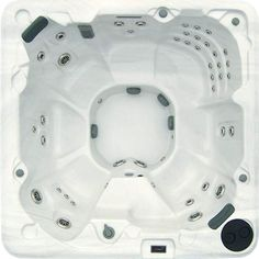 d7e976be086 FuturaSpas 8-Person 88-Jet Spa with Stainless Jets and Waterfall
