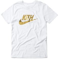 KITH Celebrates Special Pop-Up With Nike via Commemorative Co-Branded... ❤ liked on Polyvore featuring activewear and activewear tops