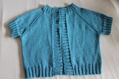 A couple of months ago I saw that the Lion Brand Yarn blog was hosting a knit-along for a top-down raglan cardigan  that was already queued...