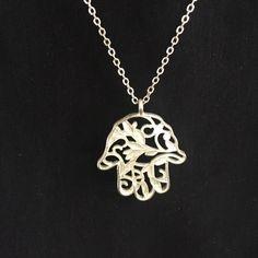 Hamsa necklace  Jewelry Necklaces