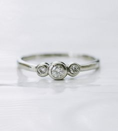Moissanite Sterling Silver Ring | Jewelry Rings | Porter Gulch | Scoutmob Shoppe | Product Detail