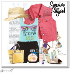 """SpringBreak"" by iulovesu ❤ liked on Polyvore"