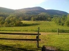 The Green Mountains of Vermont in Summer.