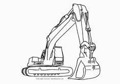 Construction Truck Coloring Pages For Kids 1000+ images about <b>coloring sheets</b> on pinterest ...