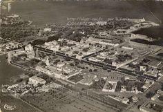Tipasa, vue aérienne de la ville