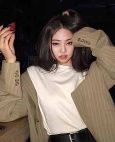 Kim Jennie, Actrices Sexy, Black Pink Kpop, Blackpink Photos, Blackpink Fashion, Blackpink Jisoo, Ulzzang Girl, Aesthetic Girl, Korean Girl Groups