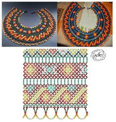 Дыхание Бисера's photos Diy Necklace Patterns, Beaded Jewelry Patterns, Beading Patterns Free, Bead Loom Patterns, Seed Bead Jewelry, Jewelry Making Beads, Bead Loom Bracelets, Beading Techniques, Loom Beading
