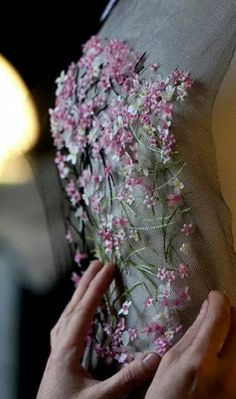 Christian Dior Haute Couture Details
