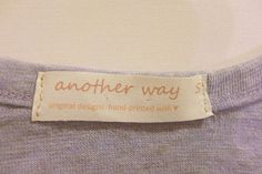 Picture of DIY: Make Your Own Clothing Labels