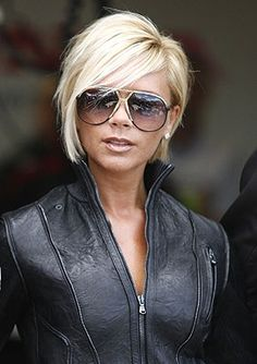 A little too short but so cute!!!!!! Victoria Beckham - short inverted bob