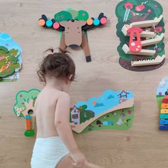 Decorate your walls with these beautiful VertiPlay Wall Toys and declutter your floors. These multi-colored wall toys are great for promoting learning of essential skills and providing development benefits.