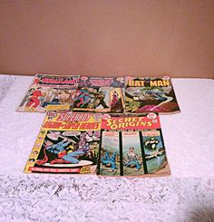 Lot of five 1973 comic books including by EverythingvintageUS