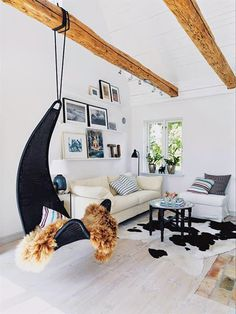 hanging chair in living room design white 24 best indoor chairs images nowdays the swing has a lot of model shades and styles now some this lovely are suitable for placed