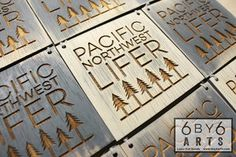 Pacific Northwest Lifer 6 by 6 Arts