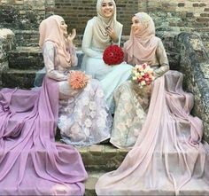 girls, hijab, and hijâbi εικόνα
