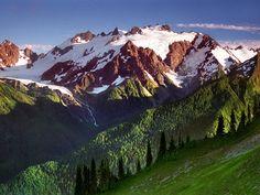 Throne of Ice, Mount Olympus, Olympic National Park, Washington