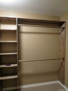 Clever Diy Closet Design Organization Ideas is part of Closet Organization Ideas - The opportunity and saving money to make your own room are the most significant benefits of DIY or do it […] Diy Closet Shelves, Closet Redo, Closet Remodel, Master Bedroom Closet, Closet Storage, Diy Walk In Closet, Diy Closet Ideas, Organize A Closet, Storage Rack