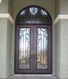 Wrought Iron Doors Windows Gates \u0026 Railings from Cantera Doors & Lerida-106 - Wrought Iron Doors Windows Gates \u0026 Railings from ... Pezcame.Com