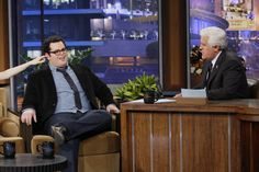 Josh Gad on Jay Leno 1.8.13 / #1600Penn