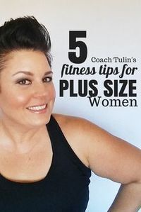 "5 Fitness Tips for Plus Size Woman Click Image to download! I am always asked questions like ""How do you stay motivated?"" ""How can I keep up with the workouts?"" ""I can't do all the exercises, how do you do it?"" I have coached hundreds of women directly from home workout to the gym on how to stick to it while staying motivated with tools that they can apply to any workout successfully. These are some of my most frequently asked question! Click image to download!"
