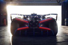 Bugatti Bolide rear close garage Le Mans, Supercars, Quad, Muscle Cars, Circuit, Porsche, Automobile, Racing Seats, Formula 1 Car