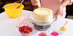 The main attraction at every party is the cake. Our beginner's guide to cake decorating has everything you need to be a decorating diva in now time. Birthday Cake Martini, Birthday Candles, 4 Tier Wedding Cake, Wedding Cakes, Cake Decorating For Beginners, Cake Decorating Tips, Cookie Decorating, Buttercream Icing, Buttercream Decorating