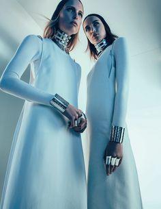 Jenna Castilloux, Lina Berg, Stasha Yatchuk by Sebastian Kim for Vogue Russia April 2015