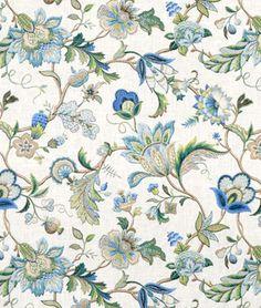 PK Lifestyles Fabric  #fabric #inspiration #design   P. Kaufmann Brissac Sapphire Fabric