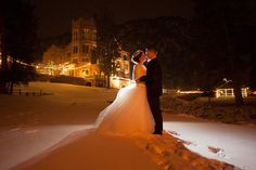 What a stunning backdrop! Photo Credit: Cayton Photography