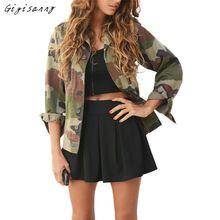 2017 Outono Inverno Mulheres Jaqueta Bomber Impressão de Camuflagem Casaco Básico Casual Street Fashion Outwear Alta Qualidade, Dezembro 26 - alishoppbrasil