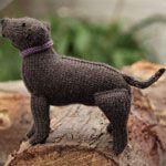 How to knit a Labrador retriever - Canadian Living freebie: thanks so xox