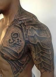 Image result for armor tattoo sleeve